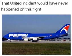 Plane Memes - united draggate memes have surfaced all chill is gone pepsiplane