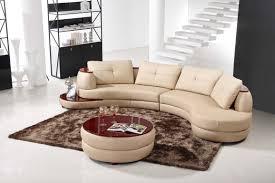 U Shaped Sofa Sectional by Enchanting Semi Circular Sectional Sofa 32 For Small U Shaped