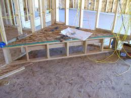 diy corner fireplace tv stand framing great room plans build your