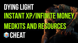 dying light playstation 4 dying light instant xp infinite medkits upgrades and money cheat