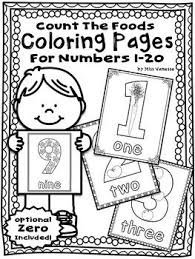 numbers 0 20 count u0026 color coloring pages counting practice