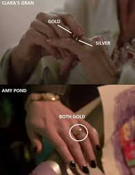 grandmother s ring doctor who is pond clara s grandmother science fiction