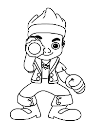 jake spyglass coloring kids play color clip art