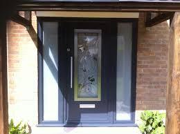 composite door glass composite doors bristol and bath crystal clear