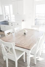 home design charming whitewash table unfinished dining home
