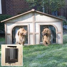 duplex images boomer u0026 george duplex dog house with options u0026 free doors hayneedle