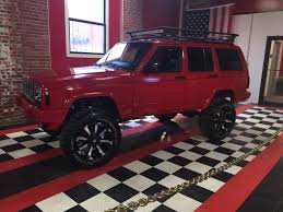 maroon jeep cherokee red 2000 jeep cherokee xj u2014 nfi empire