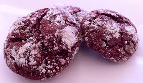 red velvet crinkle cookies cake mix cookie recipe