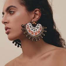 statement earrings simba statement earrings anisha parmar london