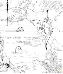 zoo animals coloring pages free printable pictures