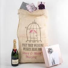 wedding wishes uk personalised hessian sack wedding wishes gettingpersonal co uk