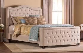 Upholstered Footboard Hillsdale Trieste Tufted Upholstered Bed Storage Footboard