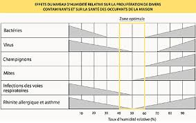 taux d humidité chambre taux d humidite ideal dans une maison un appartement hygrometrie