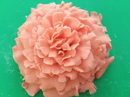 how to make sugarcraft carnations using the fmm easiest carnation