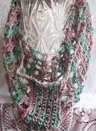 gossamer tangles crocheted double trellis cowl infinity scarf
