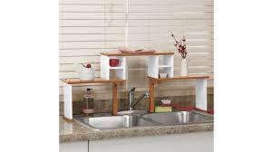 Kitchen Sink Shelves - 31 insanely clever ways to organize your tiny kitchen