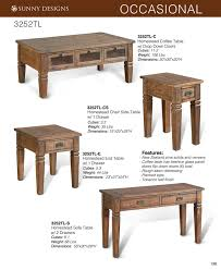 Sofa Table Dimensions Prices U2022 Sunny Designs Homestead Occasional Tables U2022 Al U0027s Woodcraft