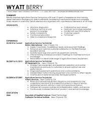 Resume Team Player Wording Best Service Technician Resume Example Livecareer