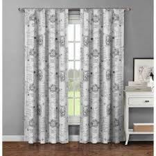 Light Grey Drapes Gray Rod Pocket Curtains U0026 Drapes Window Treatments The