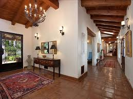 interior style homes mediterranean hacienda style in santa barbara ca