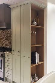 traditional sheraton kitchen larder unit idea instead of a panel