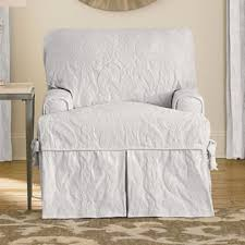 white slipcover chair buy white slipcover from bed bath beyond