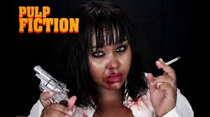 pulp fiction mia wallace inspired make up halloween