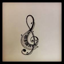 tattoo clipart music pencil and in color tattoo clipart music