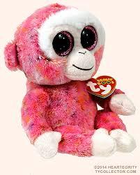 ruby ty beanie boo monkey