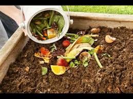 how to make a compost from kitchen scrape and garden waste youtube