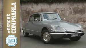 citroen classic ds citroen ds 1974 perché comprarla classic youtube