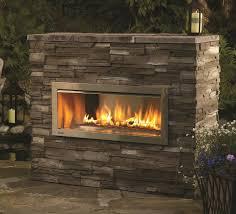 gas fireplace ceramic logs outdoor furniture