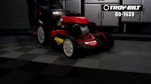 troy bilt 160cc in step gas lawn mower 21 in canadian tire