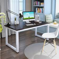 amazon com tribesigns modern simple style computer desk pc
