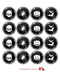 halloween toppers halloween toppers para cupcakes manzanita diabolica com
