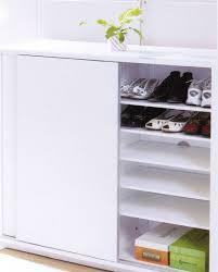 White Shoe Storage Cabinet Shoe Storage Cabinet With Sliding Doors Http Franzdondi