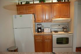 Refacing Kitchen Cabinets Ideas Kitchen White Fridge With Wooden Reface Kitchen Cabinets Design