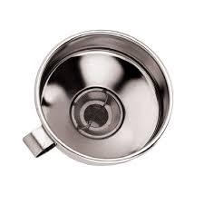 entonnoir de cuisine entonnoir inox avec filtre mobile stl sarl materiels