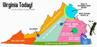 State Map Of Virginia by Virginia Today U2013a Map Of Current State Of The Commonwealth U2013 The
