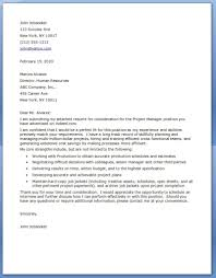 engineering manager cover letter project manager cover letter examples within project management