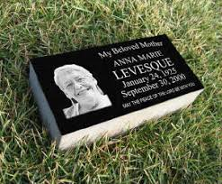 granite grave markers grave markers custom headstones for pet headstone