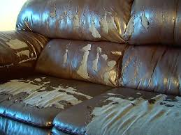 slipcover for leather sofa woman u0027s u0027leather u0027 couch peels apart after 3 years abcactionnews