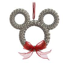 your wdw store disney ornament mickey icon wreath