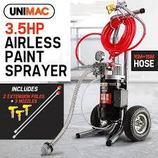paint sprayer airless paint sprayer um sp 35 shop unimac paint sprayers