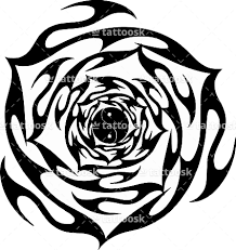 free rose floral tunnel tattoo tribal yin yang tattoo tattoosk