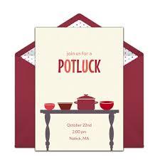 potluck invitation free potluck online invitation punchbowl
