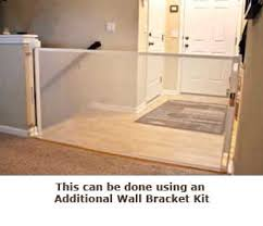 Baby Gate For Top Of Stairs With Banister And Wall Smart Retract Retract A Gate Retractable Safety Gate