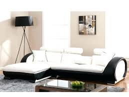 Canape D Angle Blanc Et Noir Canapac Dangle Canape Noir Et Blanc Convertible Lit Canape Dangle Convertible Blanc