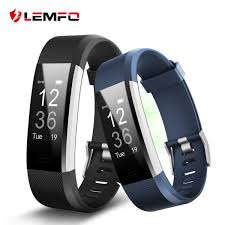 heart rate tracker bracelet images Lemfo id115 hr plus smart wristband heart rate monitor fitness jpg