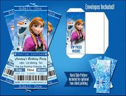 Frozen Invitation Cards Frozen Movie Birthday Invitations Vertabox Com